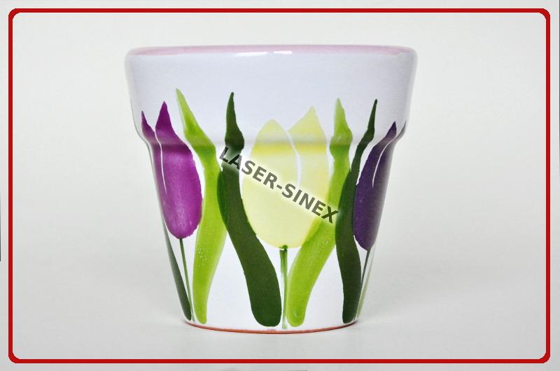 Doniczki Gliniane Donice Ceramiczne Rękodzieło Donice Gliniane Ręcznie Malowane
